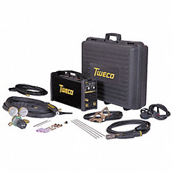 Stick/TIG Kit, Inverter, 200A, 115/230V