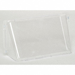 Wall Register Air Deflector, Clear