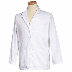 Consultation Jacket, M, White, 30 In. L