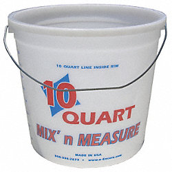 Paint Pail, 10 qt, Hi Density Polyethylene