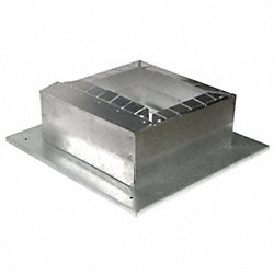 Duct Connector, 8-12In. Floor Base