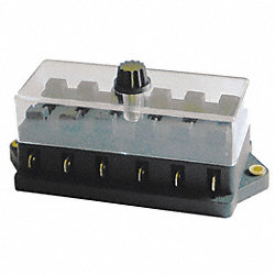Fuse Block, 6 Way Case
