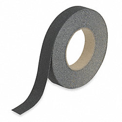 Antislip Tape, Black, 1 In x 60 ft.