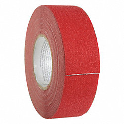 Antislip Tape, Red, 2 In x 60 ft.
