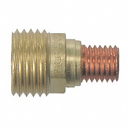 Gas Lens, Copper / Brass, 0.020 In, Pk 2