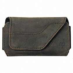 Clip Case Sideways Leather Small