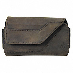 Clip Case Sideways Leather Medium