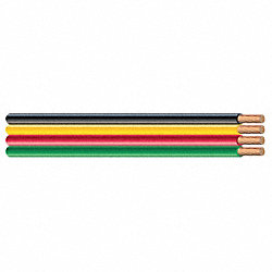 Submersible Pump Cable, 4Wire, 12AWG, 500Ft