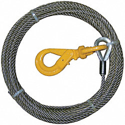 Winch Cable, Steel, 3/8 In. x 150 ft.