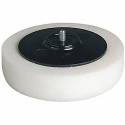 Polishing Pad, Foam, 6 In Dia.