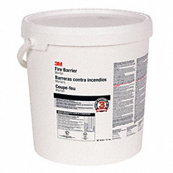 Fire Barrier Mortar, 5 gal., Off-White