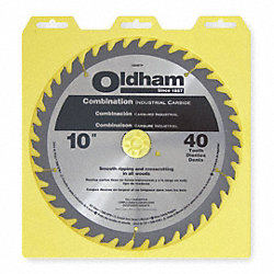 Circular Saw Bld, Crbde, 10 In, 40 Teeth