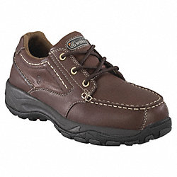 Work Shoes, Comp, Mn, 11W, Blk, 1PR