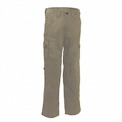 Uniform  Work Pant, Tan, Size 38x28 In