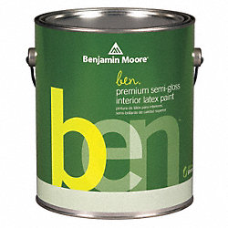 Interior Paint, Semi-Gloss, 1 gal, Brooklin