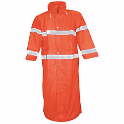Rain Jacket, Fluorescent Orange, L