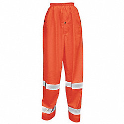 Hi-Vis Rain Pants, Hi-Vis Orange, M