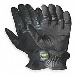 Mechanics Gloves, M, Grain Cowhide, PR