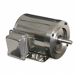 Washdown Motor, 3 Ph, TENV, 1/2 HP, 1745 rpm