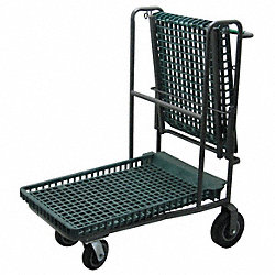 Flip Top Garden Cart, 300 lb., 47 In. H