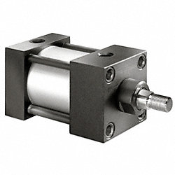 Air Cylinder, 1 1/2 In Bore, 2 In Stroke