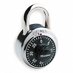 Combination Padlock, High Security, PK 2