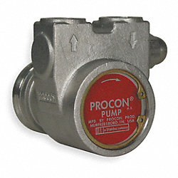 Rotary Vane Pump, 3/8 In, 154 GPH