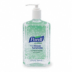 Hand Sanitizer, Gel, Size 12 oz., PK 12