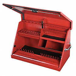 Tool Box, 30 Wx 18-1/8 Hx 15 In D, Stl, Red