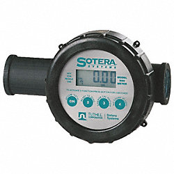 Flowmeter, Digital, 1 In, W/ Air Eliminator