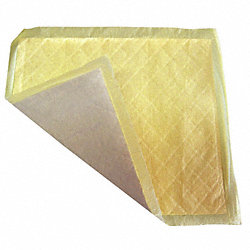 Absorbent Pads, 12 In. W, 13 In. L, PK 400