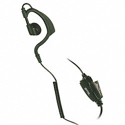 ONE WIRE EARLOOP EARBUD INLINE MIC/PTT
