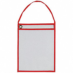 Shop Ticket Holder, Hanging, Red, PK25