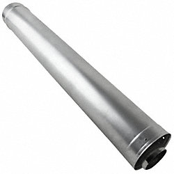 Waterheater Vent Pipe, 36In L, 3In Dia.