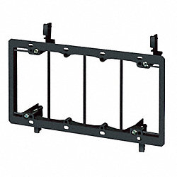 Mounting Bracket, Low Voltage, 4 Gang