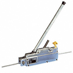 Manual Wire Hoist, 1 Ton, Lift Cap 2000Lb