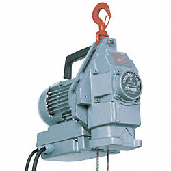 Electric Wire Rope Hoist, Capacity 660 lb