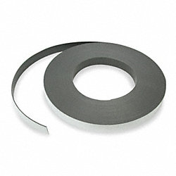Flexible Magnetic Strip, 12 lb.ft., 100ft.