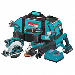 Cordless Combination Kit, 3.0A/hr., 18.0V