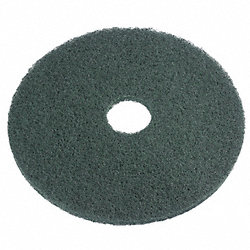Scrub Pads, Green, 17 In, Pk 5