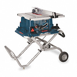 Cntrctr Table Saw, 10 In Bld, 5/8 In Arbr