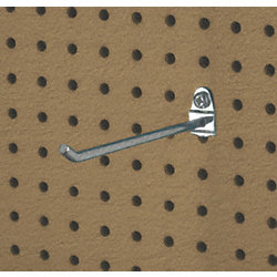 Single Rod Pegboard Hook, PK 3