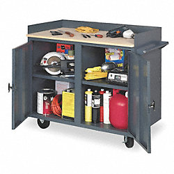 Mobile Service Bench, 42 In. W, 24 In. L