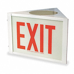 Sign, Three Sided Exit, Use With VEG, VE3Q
