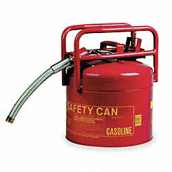 Type II DOT Safety Can, Red, 15-3/4 In. H