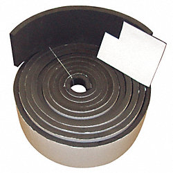Sponge Stripping, EPDM, 1/8x3/4 In, 50 Ft.