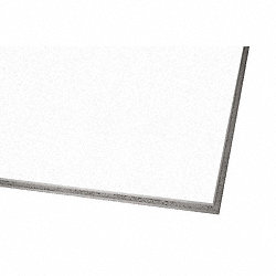 Ceiling Tile, 24 x 24 In, 3/4 In T, PK12