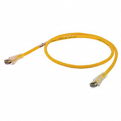 Patch Cord, Cat6, 7Ft, Yellow