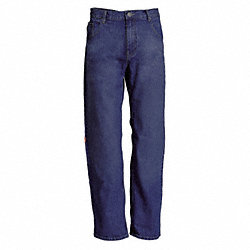 Pants, Cotton/Nylon, Blue, 12 oz.