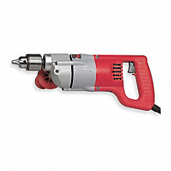 D Handle Drill, 1/2 In, 600 RPM, 7.0 A, 120V